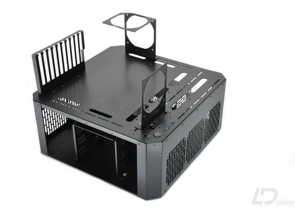 LD PC V4 Bench Table   Black