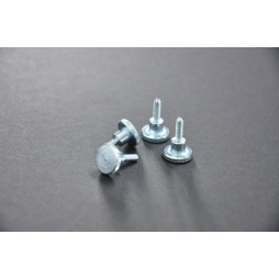 Thumb Screws DIN464 M3 x 10 - Silver - Pack of 4
