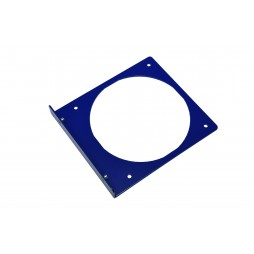 Single 120mm Fan Holder - Blue
