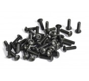 Black Screws M3 x 10 - Pack of 50