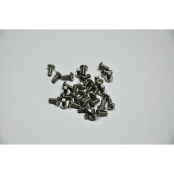 Silver Screws M3 x 6 - pack of 50
