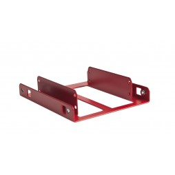 Dual SSD Adapter Bracket - Red