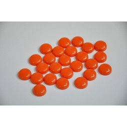 Orange Screw Caps - pack of 25