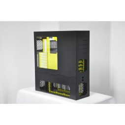 LD PC-V8 ATX/HPTX Black/Yellow