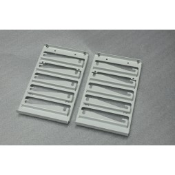 HDD Cage with antivibration screws - White