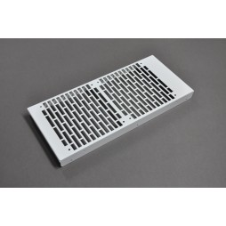 280mm White Grille