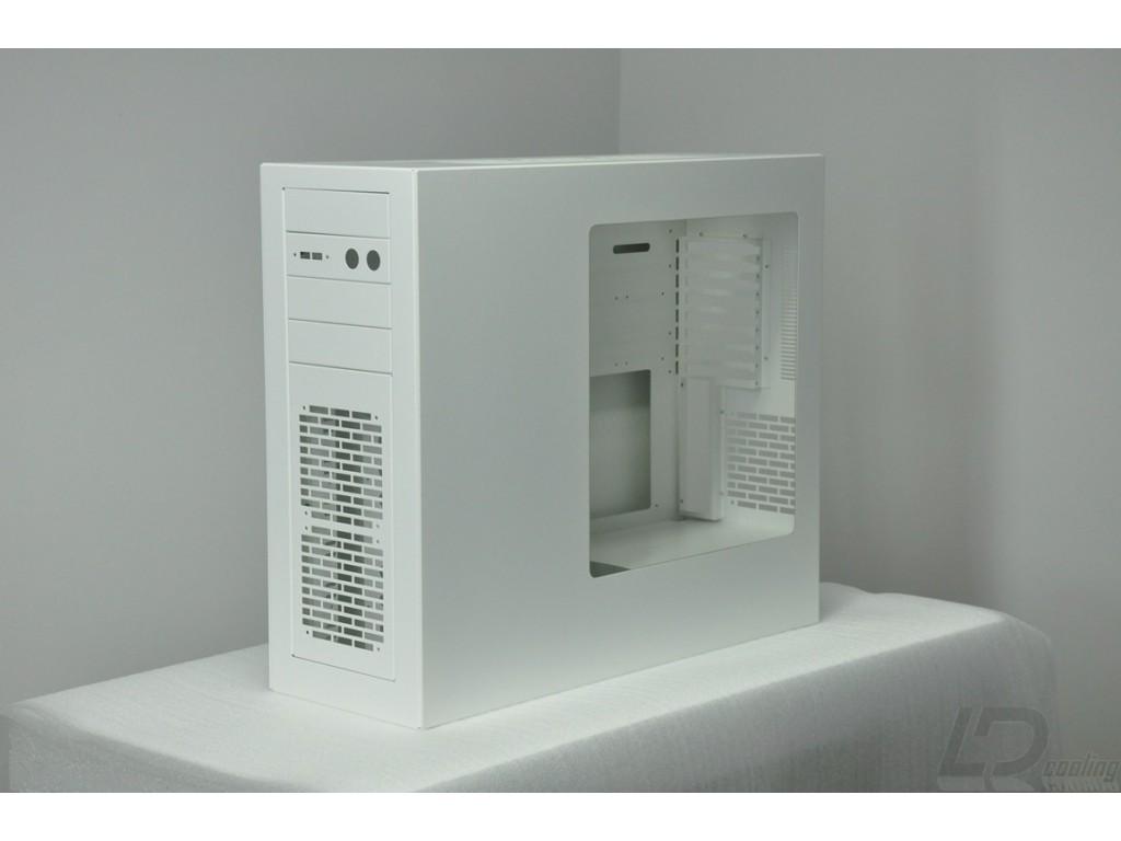LD PC-V7 Reverse White 240/360 - LD Cooling Computer Cases