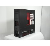 LD PC-V8 Reverse ATX/HPTX Black/Red