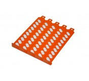 Orange PCI covers pack of 5