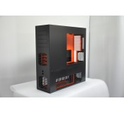 LD PC-V8 Reverse ATX/HPTX Black/Orange